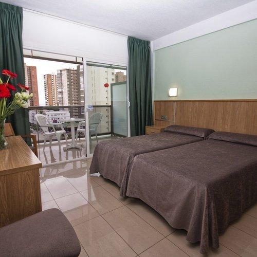 Chambre double Hôtel Perla