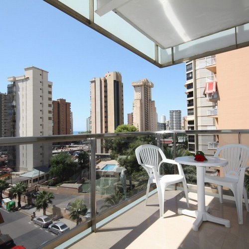 Terrasse Hôtel Perla