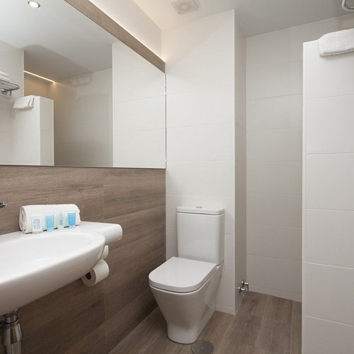 Salle de bain Hôtel Perla